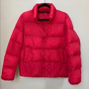 Uniqlo down packable puffer jacket SZ M